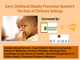 Early Childhood Obesity Prevention: The Role of Childcare Settings